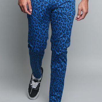 Leopard Print Pants DL1237 - BB8C