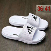 """""""Adidas"""" Fashion Casual Comfortable Sandals Shoes Men Coconut Slippers White G-AHXF  QF"""