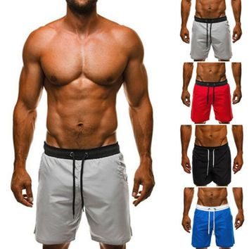Stylish 3XL Men Shorts Joggers Loose Beach Bermuda Shorts Elastic Waist Bodybuilding Workouts Sweatpants Plus Size Masculina