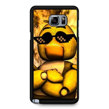 Five Nights At Freddy S Cool Chics Samsung Galaxy Note 5 Case