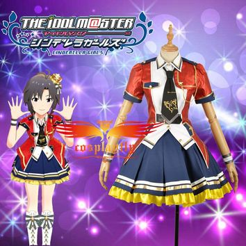 W1223 The Idolmaster Million Live Theater Days Cosplay Costume Custom Made Stage Costume Adult Women Outfit Short Dress