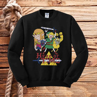 Hero of Time sweater unisex adults