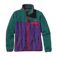 Patagonia Women's Full-Zip Snap-T® Fleece Jacket | Concord Purple