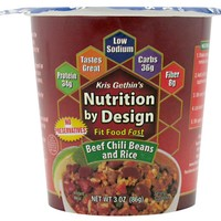 Nutrition by Design Fit Meal Beef Chili Beans & Rice