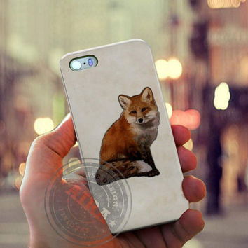 Little Fox Case for Iphone 4, 4s, Iphone 5, 5s, Iphone 5c, Samsung Galaxy S3, S4, S5, Galaxy Note 2, Note 3.