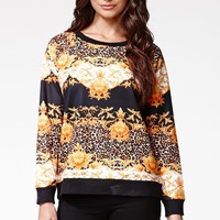 MinkPink Imperial Jungle Sweater - Womens Sweater - Multi