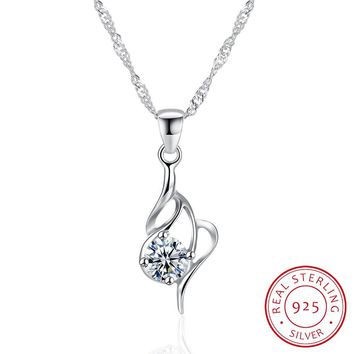 925 Sterling Silver Necklace fashion