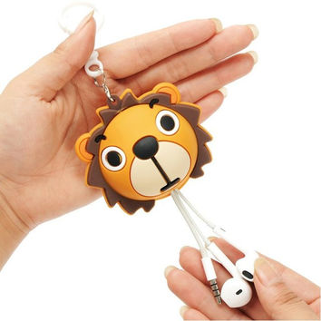 Cute Animal Earphone Winder