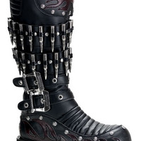 Boxer-201, Demonia, Demonia Boots, Steampunk Boots,