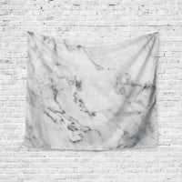 Carerra Marble Agate Geode Unique Trendy Boho Wall Art Home Decor Unique Dorm Room Wall Tapestry Artwork