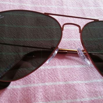 ddfdbfb45c Mens Ray Ban RB3025 Aviator Sunglasses Rarer Rose Gold Frames. Smart Eyewear !