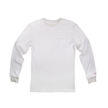 Heavyweight Long Sleeve Pocket Tee