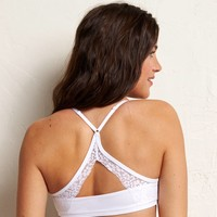 Aerie Lace Back Sports Bra