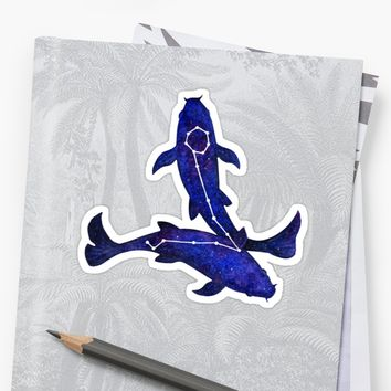 'Astrological sign pisces constellation' Sticker by savousepate