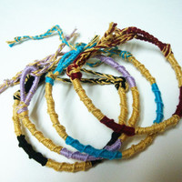 Friendship Bracelet Set - French twist - Chinese Staircase