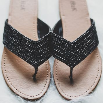 Brynn Sandals - Black