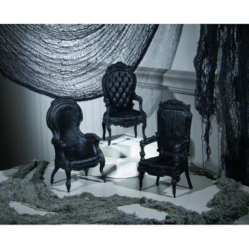 GOTHIC CHAIRS 3 ASSORTED