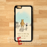 Piglet and Winnie The Pooh bff -ndd for iPhone 4/4S/5/5S/5C/6/ 6+,samsung S3/S4/S5,samsung note 3/4
