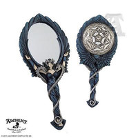 Speculum Mirror Alchemy Gothic Punk Rock Goth Clocks Home Decor candleholders