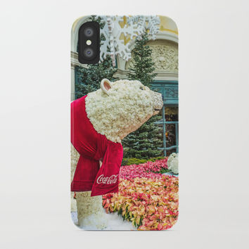 Polar Bears iPhone Case by Knm Designs