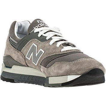 ICIKGQ8 new balance men m997 5 made in usa gray white