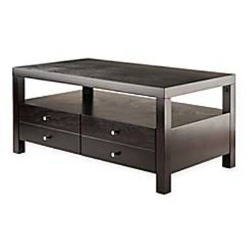 Winsome Trading Copenhagen Coffee Table in Espresso