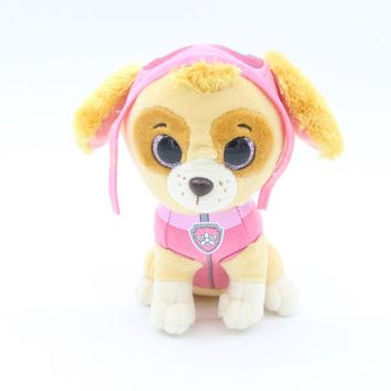 "Ty Beanie Boos Original 6"" 15cm Pups Skye Cockapoo (Cocker Spaniel / Poodle mix) Cartoon Puppy Dogs Stuffed & Plush Animals Toys"