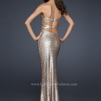 Long 2013 La Femme Prom Dress Style 17368
