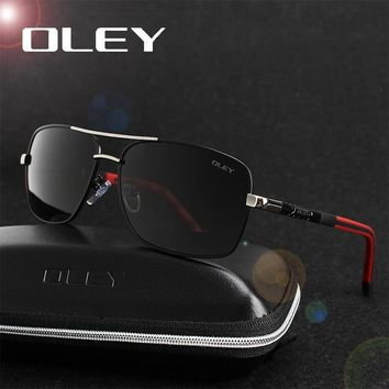 Polarized Sunglasses Men's With Accessories