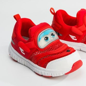 Super Shoes Wings Led Shoes Kids Girls Boys Summer Mesh Shoes Kids Light Up Shoes for 2-8 Years Old