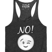 Nah bro-Female Heather Onyx Tank