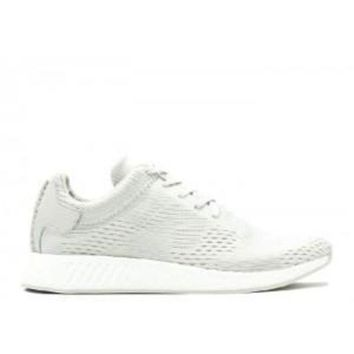 CREYGE2 Beauty Ticks Adidas Nmd R2 Wings + Horns Ash Off White Sport Running Shoes