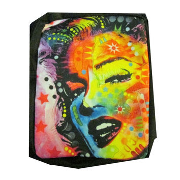 Marilyn Monroe (Peter Max Style) on a  Girls or Womens Messanger Bag / Purse /School Bag