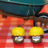 Winnie the Pooh Honey Pot Earrings Disney by LifeistheBubbles