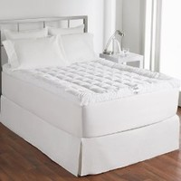 Hollander Ultimate Cuddlebed Down Alternative Mattress Topper, 400 Thread Count, Queen
