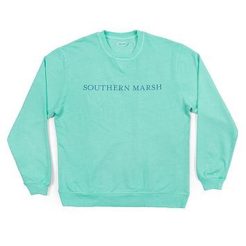 SEAWASH™ Sweatshirt in Antigua Blue by Southern Marsh