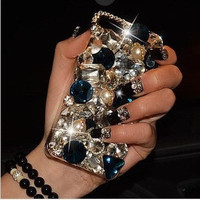 Luxury Rhinestone Phone Case for Samsung Galaxy S4 Note2 S3