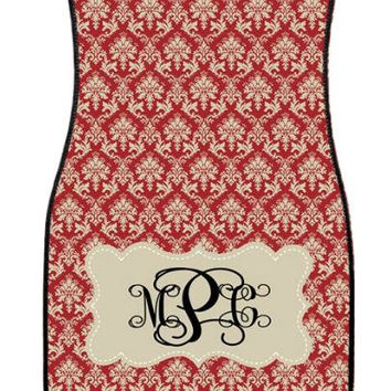 Car Mats Gift Ideas Car Accessories Monogrammed Car Mat Damask Personalized Car Mats  Monogrammed Car Mats