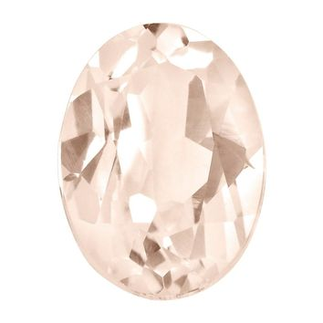 Loose Morganite Gemstone  8x6mm Oval AA Quality
