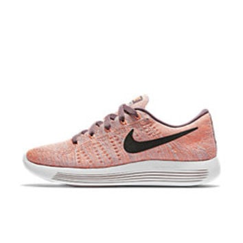The Nike LunarEpic Low Flyknit Women's Running Shoe.