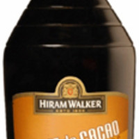 Hiram Walker Cream De Cacao Dark Liqueur