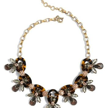 J.Crew Faux Tortoise & Firefly Necklace | Nordstrom