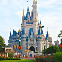 Cinderella's Castle Disney World - Fine Art Disney Princess Castle Photo Limited Edition Print 5x7 by Mei Faith