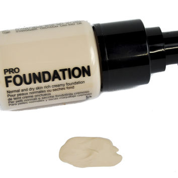 Fading Light Alabaster Foundation Cosplay Gothic Makeup