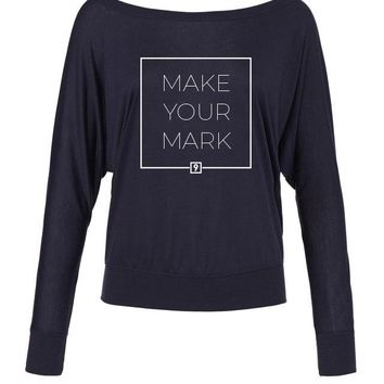 Make Your Mark Ladies Flowy Tee