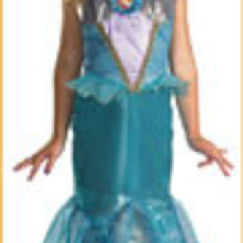 Little Mermaid Costumes Ariel Girls Deluxe