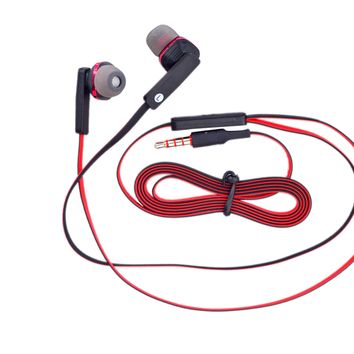 Wired Noise Cancelling Microphone Earphones Mutlifunction Stereo Sound Kids Earbuds for Kids Children Teen Girls Apple Android Laptop PC Compatible Red Black