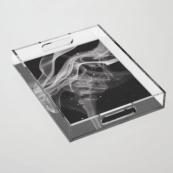 Smoke & Ash Acrylic Tray by duckyb