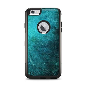 The Grunge Green Textured Surface Apple iPhone 6 Plus Otterbox Commuter Case Skin Set