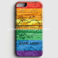 Lgbt Same Love Rainbow Flag iPhone 6 Plus/6S Plus Case | casefantasy